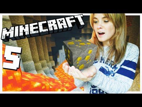 SOY UNA MINERA!!   Minecraft (5) - Lele