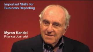 Myron Kandel: Which Journalism Skills Are Crucial?