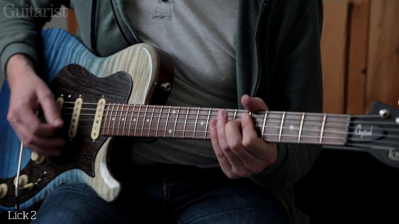 Master 4 essential slow blues guitar solo licks   MusicRadar