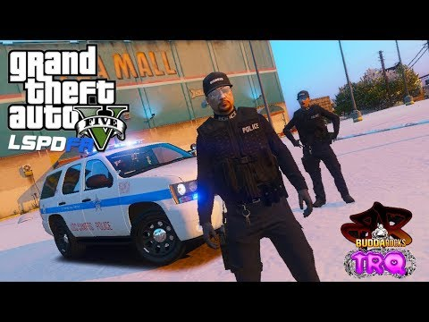LSPDFR GTA 5  Gang Task Force◆Police Ride Along W/TRQ◆Chicago PD Style Tahoe◆Real Life Police Mods