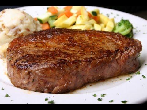 как приготовить стейк из говядины дома в духовке