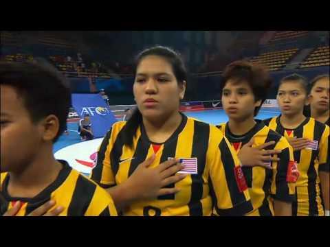 AFC Women's Futsal Championship Malaysia 2015 Match #7 MALAYSIA V HONG KONG