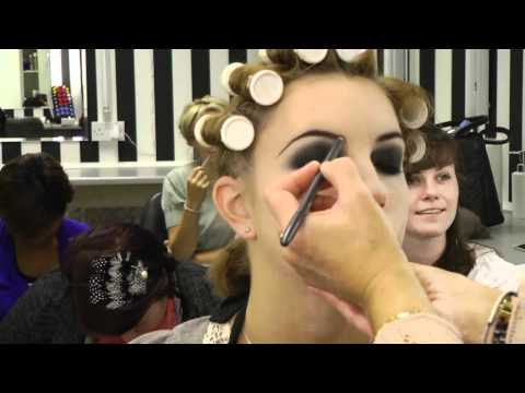 1920's Period Make-Up Demonstration