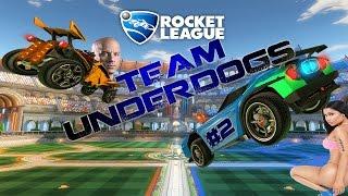 Gambar cover Rocket League - Gameplay ITA #2- Dominic Minaj - Team Underdogs