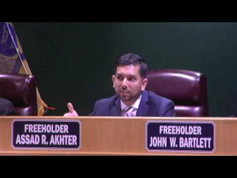 Passaic County Freeholders Meeting, April 11th, 2017