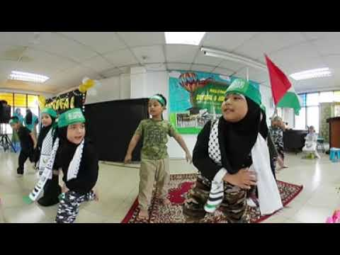 Gelombang Keadilan Song And Dance 360 | Al-Husna Islamic Pre School | Red Class