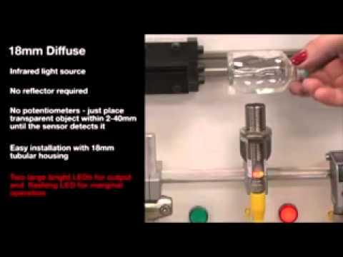 Balluff Transparent Detection Sensors