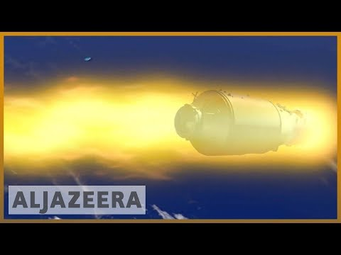 🇨🇳 China's Tiangong-1 space lab falls to Earth | Al Jazeera English