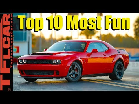 These Are the Top 10 Most Fun Cars We Drove This Year!
