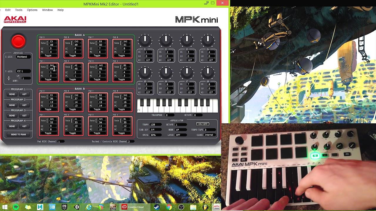 mpk mini editor free download