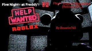 FNaF : Support Requested {Roblox} (FFL)