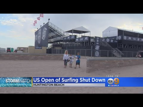 US Open Of Surfing Shut Down Because Of Lightning