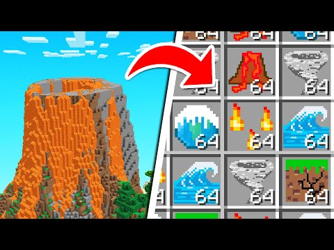 Minecraft BUT We Can CRAFT DISASTERS!
