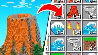 Minecraft BUT We Cąn CRAFT DISASTERS!