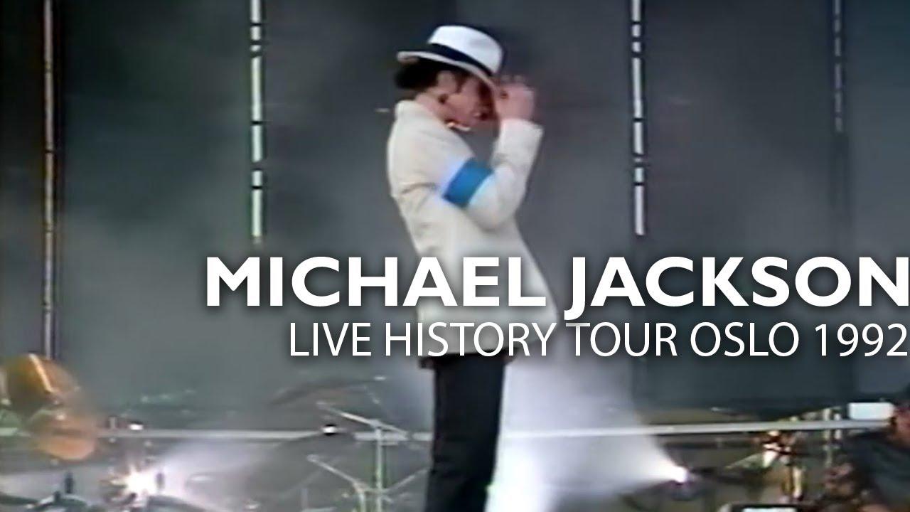 "Michael Jackson - ""Smooth Criminal"" live Dangerous Tour Oslo 1992 - Enhanced - HD"