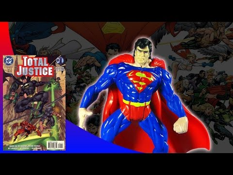 KENNER - BATMAN TOTAL JUSTICE SUPERMAN ACTION FIGURE REVIEW (ita)