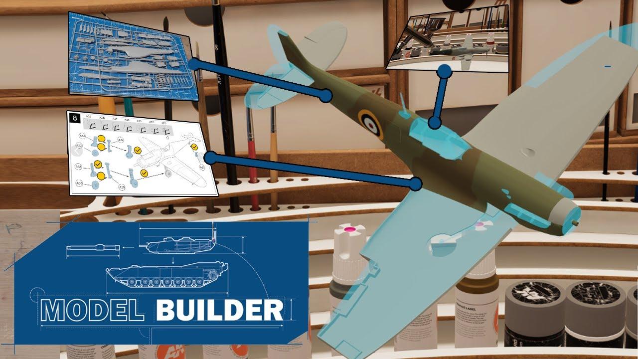 Symulator modelarstwa i sklejania modeli - Model Builder (Demo)