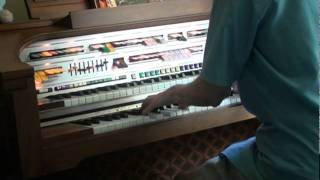 "Walter Hammel Performs ""Mambo Time"" on the Lowrey C500 Celebration Organ."