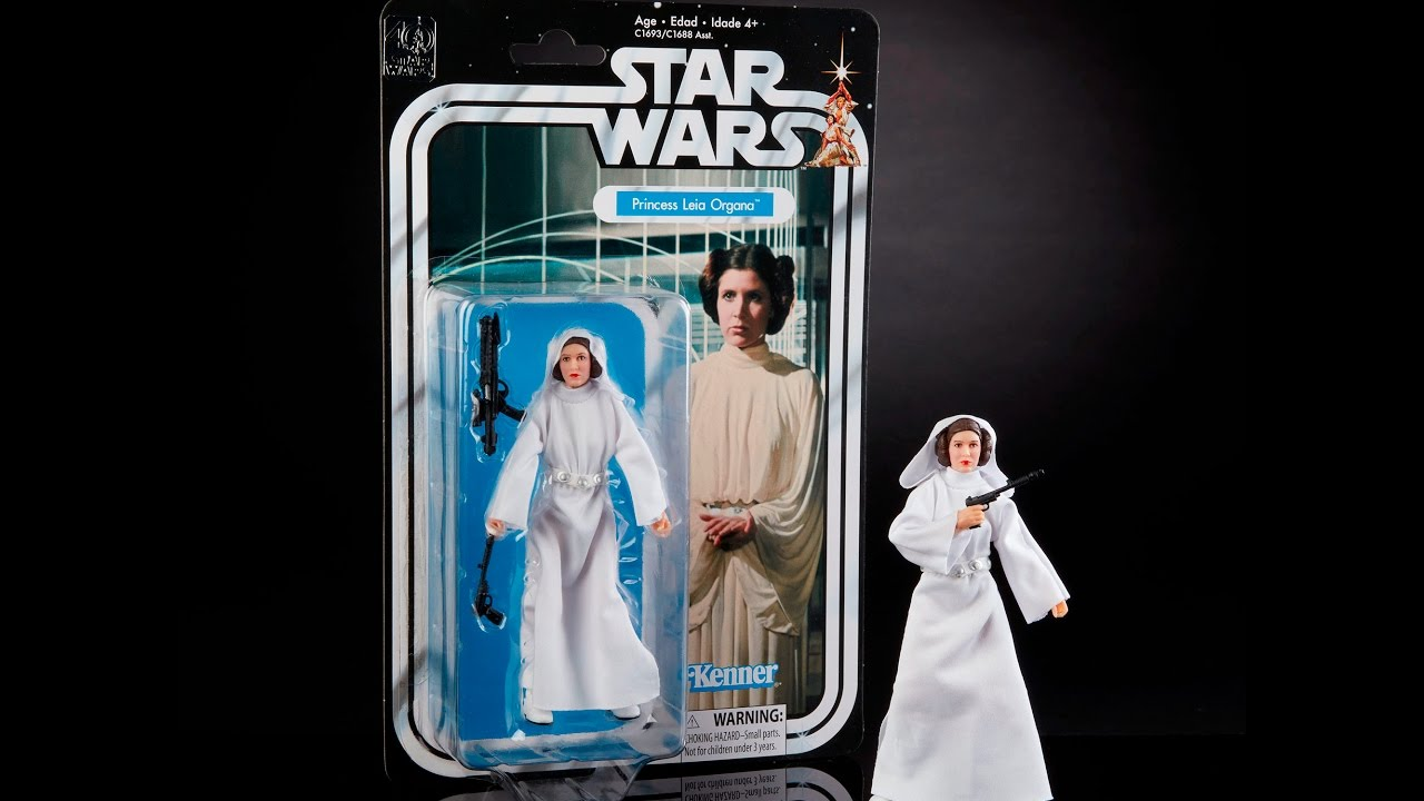 "Star Wars Black Series ~ 40TH ANNIVERSARY 6/"" PRINCESS LEIA ACTION FIGURE"