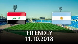 Iraq vs Argentina - International Friendly - PES 2019