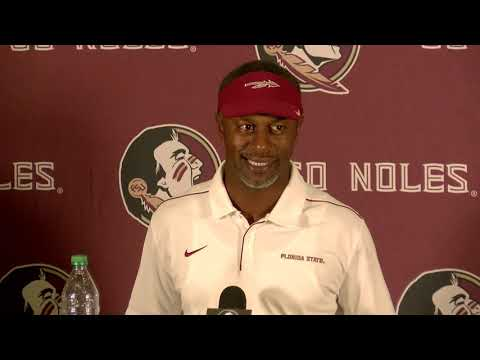 FSU head football coach Willie Taggart on 35-24 win over Louisville