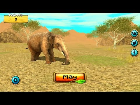 Wild Elephant Sim 3D Android Gameplay HD