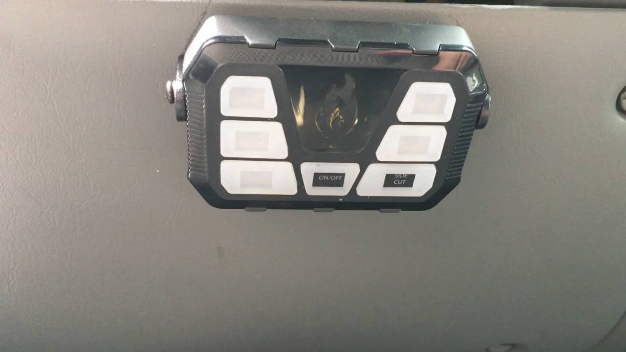 Feniex T3 And 4200 Mini Controller Install