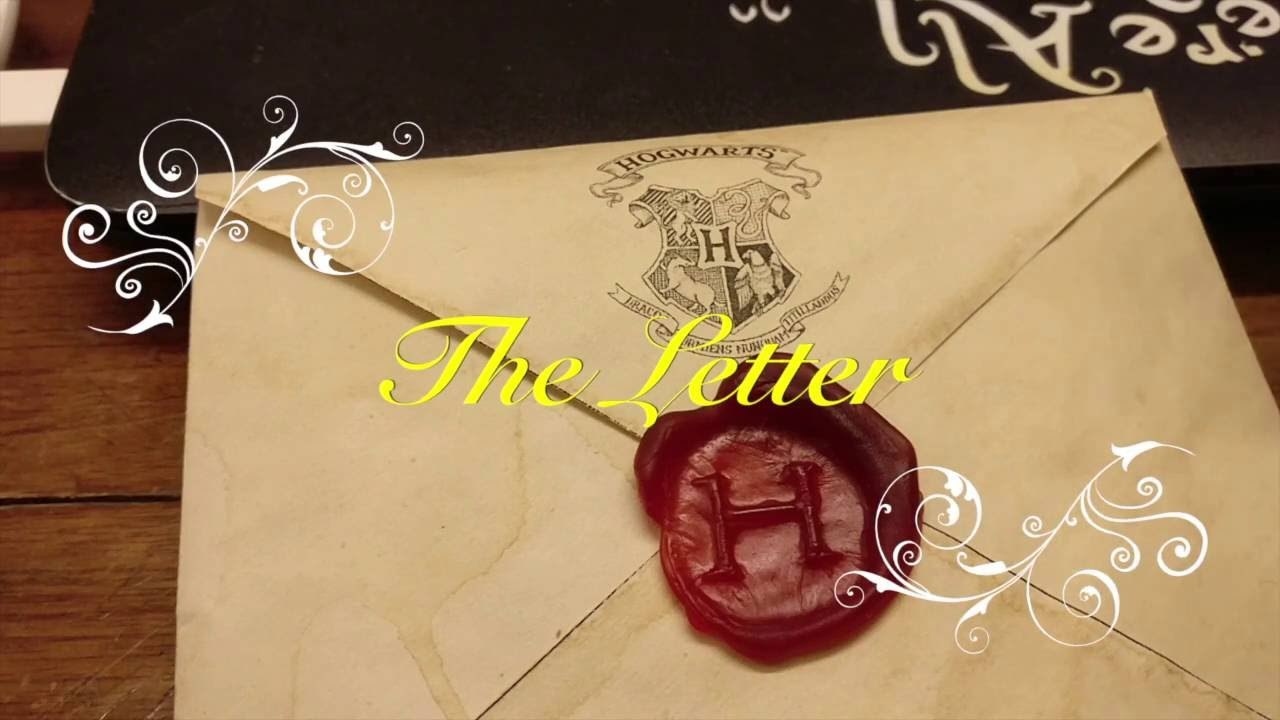 how to hogwarts acceptance letter