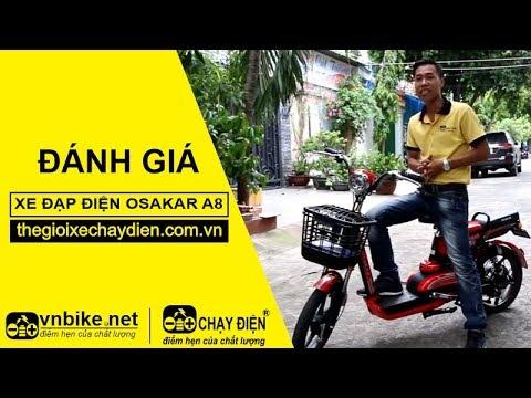 Đánh giá xe đạp điện Osakar A8