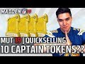 10 Captain Tokens ➡️ QUICKSELL SET - Is it worth it?? | Madden 19