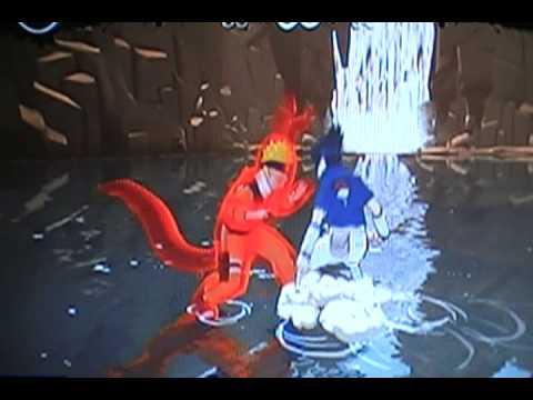 Naruto broken bonds sasuke vs demon fox naruto part2 youtube - Demon de sasuke ...