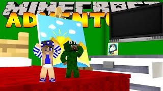 Minecraft Adventure : LITTLE LIZARD AND LITTLE CARLY SHRINK!