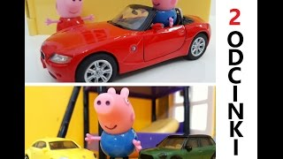 Bajka Swinka Peppa po Polsku - Dwa fajne odcinki / Wycieczka BMW i George i jego Auta