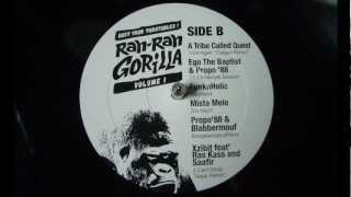 Xzibit feat. Ras Kass & Saafir - 3 Card Molly (Azaia Remix) - The Rah Rah Gorilla #1 (2012)