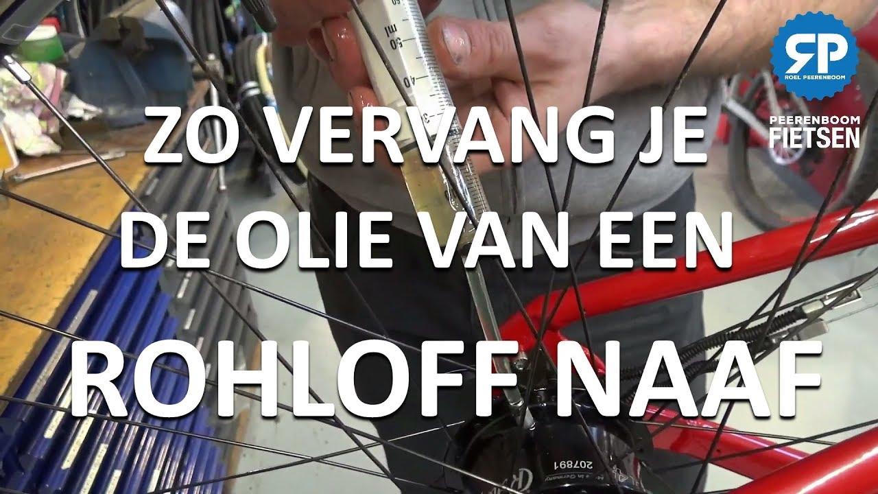 ROHLOFF NAAF OLIE VERVANGEN: zo doe je dat