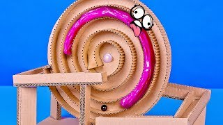 How to Build a Candy Machine from Cardboard