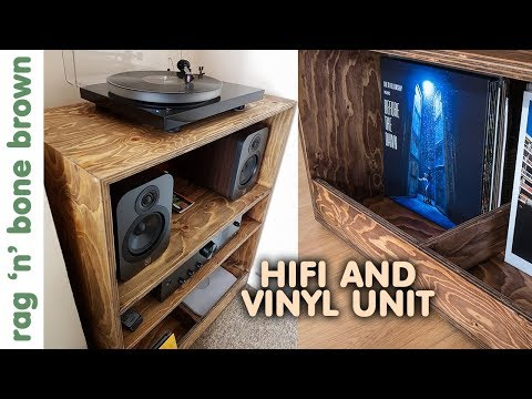 Hifi And Vinyl Unit