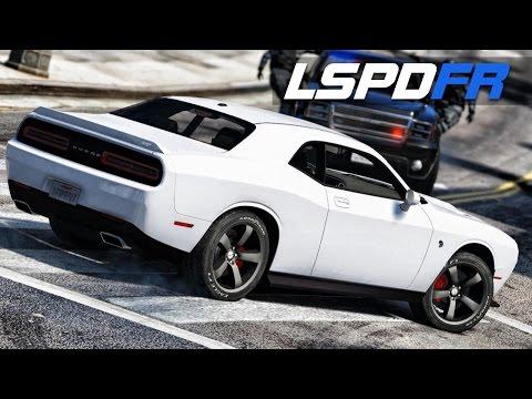 LSPDFR E125  - Challenger SRT Hellcat Runs | Police Chase Me