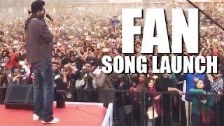 srk performing at hansraj college jabra fan anthem feel crowd