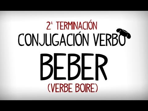 Conjugaison Verbe Boire En Espagnol Verbo Beber Youtube