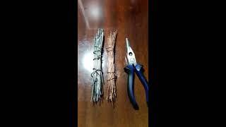Добываем медь и алюминий(В данном видео описано как добыть лом меди, медь блеск, и алюминий электротехнический из отходов провода..., 2017-02-23T18:46:40.000Z)