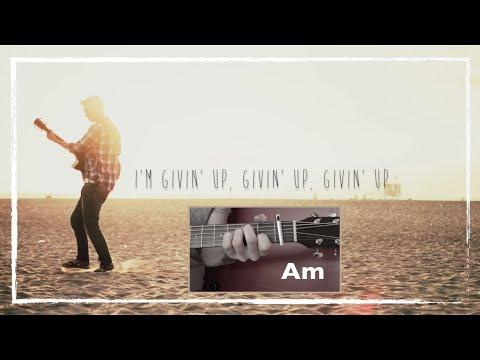 James Cottriall -  Givin Up Lyrics Video & Chords