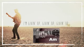 James Cottriall -  Givin Up Lyrics Video & Chords