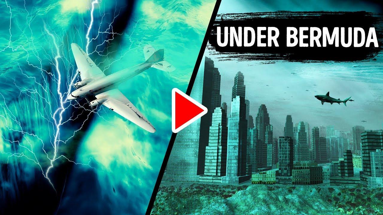 Einige sagen, dass es eine Stadt unter dem Bermuda-Dreieck gibt + video