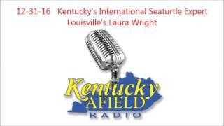 12-31-16  Laura Wright - Kentucky's Sea Turtle Expert