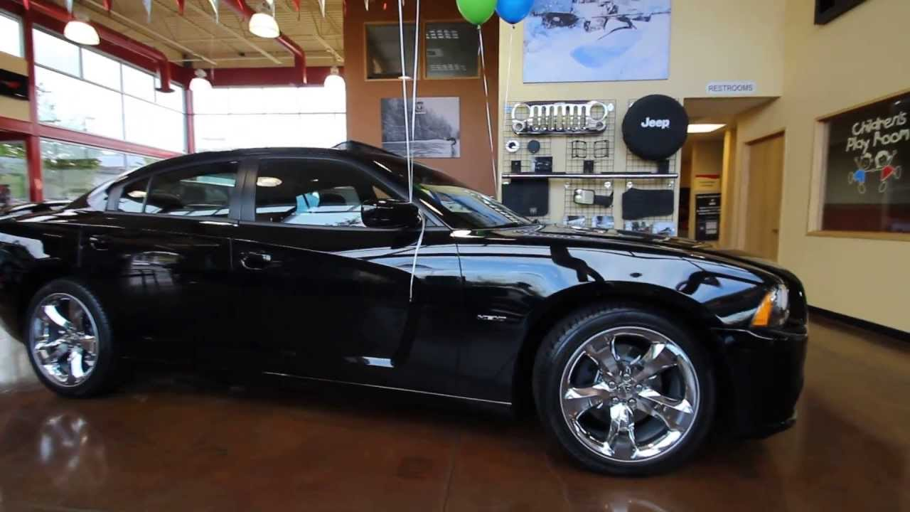 Eh104594 2014 Dodge Charger Rt Dcjofmonroe Black