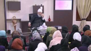 Gulshane Waqf-e-Nau (Nasirat) Class: 22nd January 2011 (Urdu)