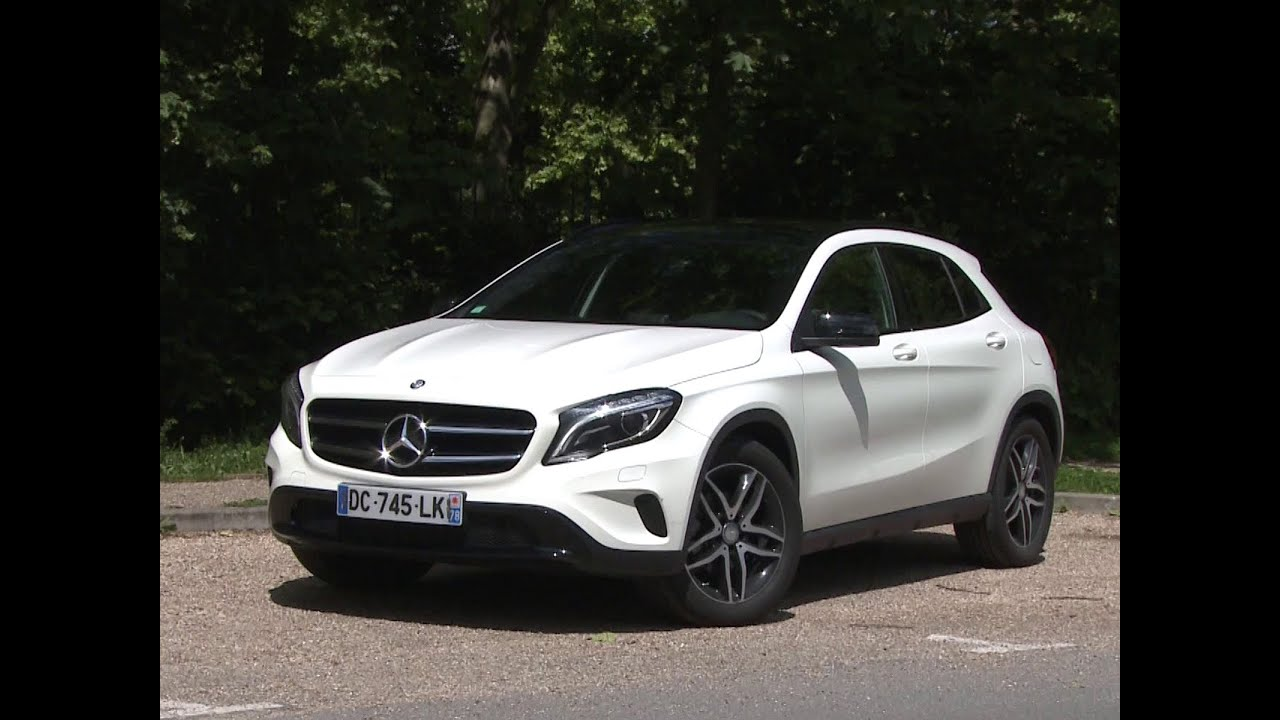 Essai Mercedes Gla 200 Cdi Sensation 2014 Youtube
