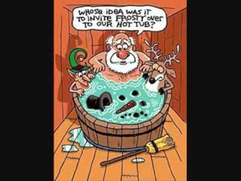 Porky Pig Blue Christmas