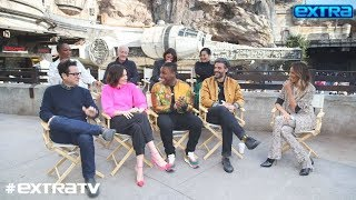 JJ Abrams amp Cast on Star Wars The Rise of Skywalker An Emotional Moment Lost Script and More